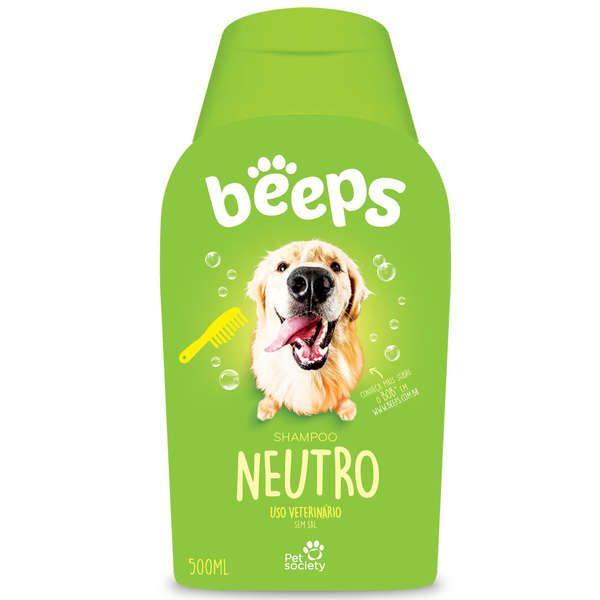 Shampoo Beeps Neutro para Cães 500 ml  - Agropet Mineiro