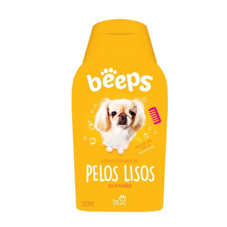 Shampoo Beeps Pelos Lisos  para Cães 500 ml