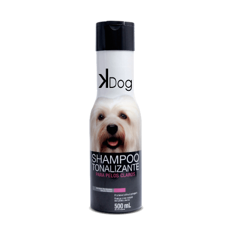 Shampoo K-Dog Tonalizante 500 ml  - Agropet Mineiro