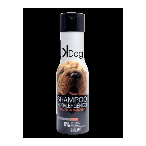 Shampoo Peles Sensíveis Hipoalergênico K-Dog 500ml  - Agropet Mineiro