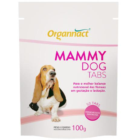Suplemento Mineral Mammy Dog Tabs 100g
