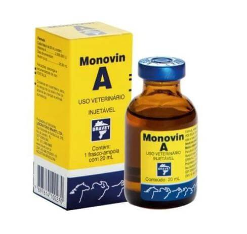 Suplemento Vitamínico Monovin A para Bovinos  - Agropet Mineiro