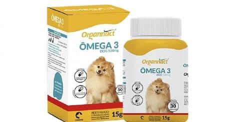 Suplemento Vitamínico Ômega 3 Dog 500mg