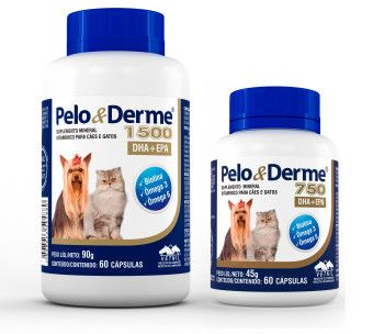 Suplemento Vitamínico Pelo e Derme 60 Comprimidos  - Agropet Mineiro