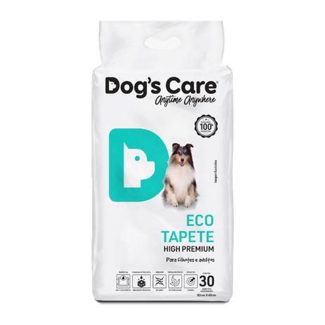 Tapete Higiênico Dogs care Tamanho 60x80 cm com 30  Unidades