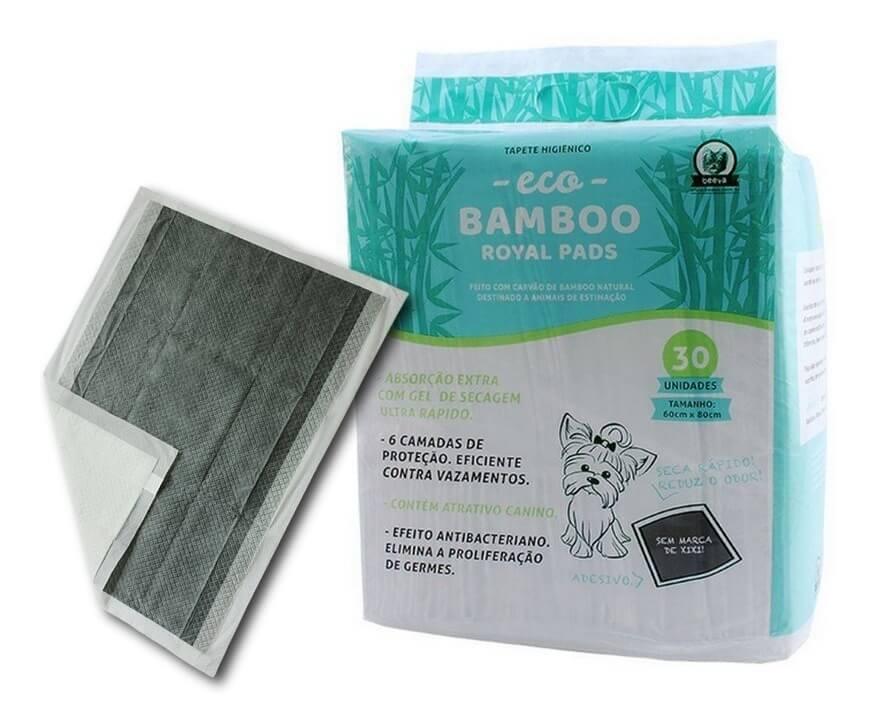 Tepete Higiênico EcoBamboo c/ 30 Unidades  - Agropet Mineiro
