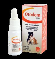 Tratamento Otológico Otodem Plus 20 ml   - Agropet Mineiro
