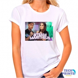 Camiseta para Empresas Personalizada - #MARITHEUS