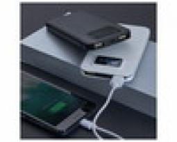 Powerbank Plástico Com Visor Digital