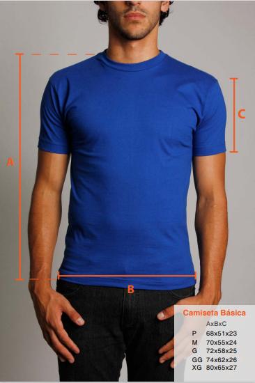 Camiseta Masculina Personalizada Preta Estampa frente média (A4)