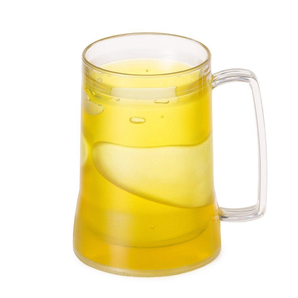 Caneca Acrílica Transparente Com Gel Congelante - Personalizada