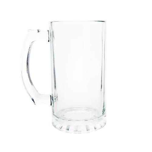 Caneca de Chopp de Vidro Cristal Personalizada