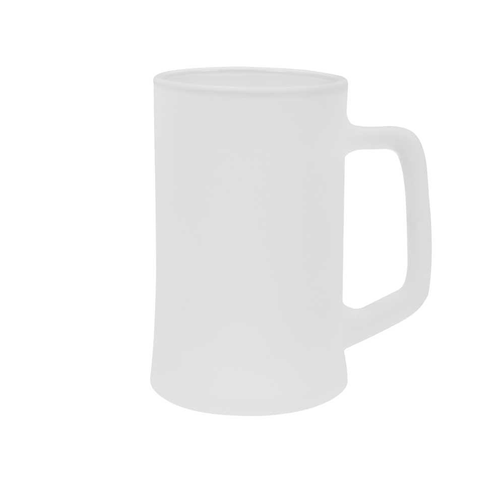 Caneca de Chopp de vidro Jateada Personalizada