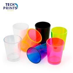 Copinho de Shot / Tequila Acrílico - diversas cores - mínimo 50 unid