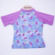 Camiseta com proteção solar manga curta Ecotrends - Polvo