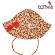 Chapéu com proteção solar Cereja