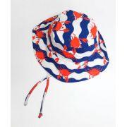Chapéu com proteção solar UV Ecotrends - Carangueijo