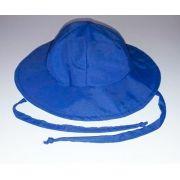 Chapéu dupla-face com proteção solar Ecotrends - Azul Marinho e Verde