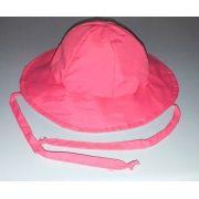 Chapéu dupla-face com proteção solar Ecotrends - Rosa e Verde