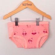Kit com 2 calcinhas de transição/desfralde Ecotrends - Flamingo