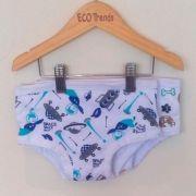 Kit com 2 cuecas de transição/desfralde Ecotrends  - astro + cachorro novo