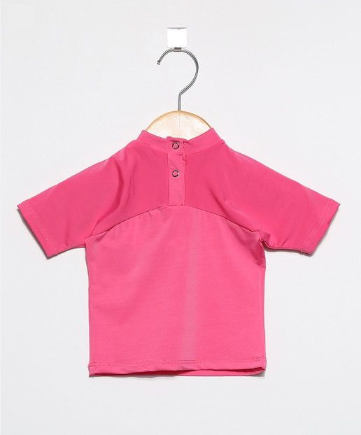 Camiseta com proteção solar manga curta  Ecotrends - Pitaya