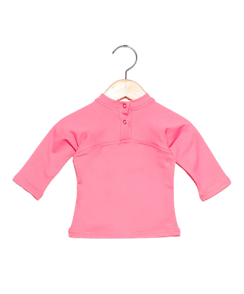 Camiseta com proteção solar manga longa Ecotrends - Rosa