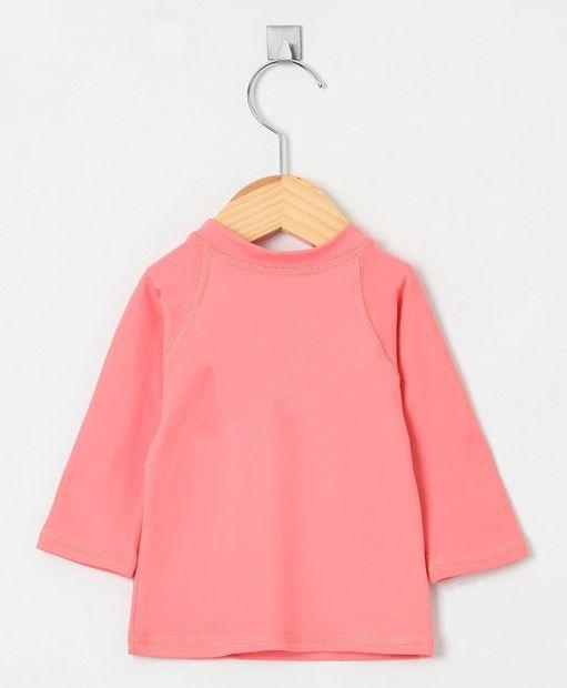 Camiseta com proteção solar manga longa Ecotrends - Rosé