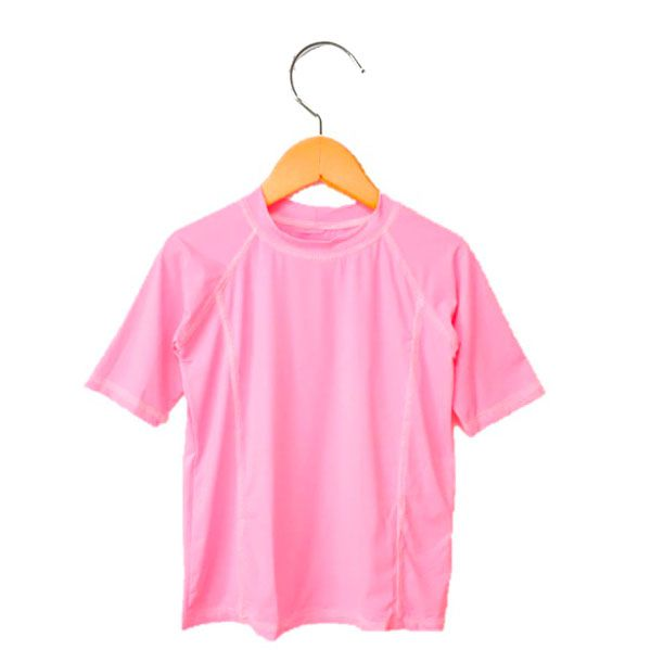 Camiseta Infantil Com Proteção Solar Manga Curta Ecotrends