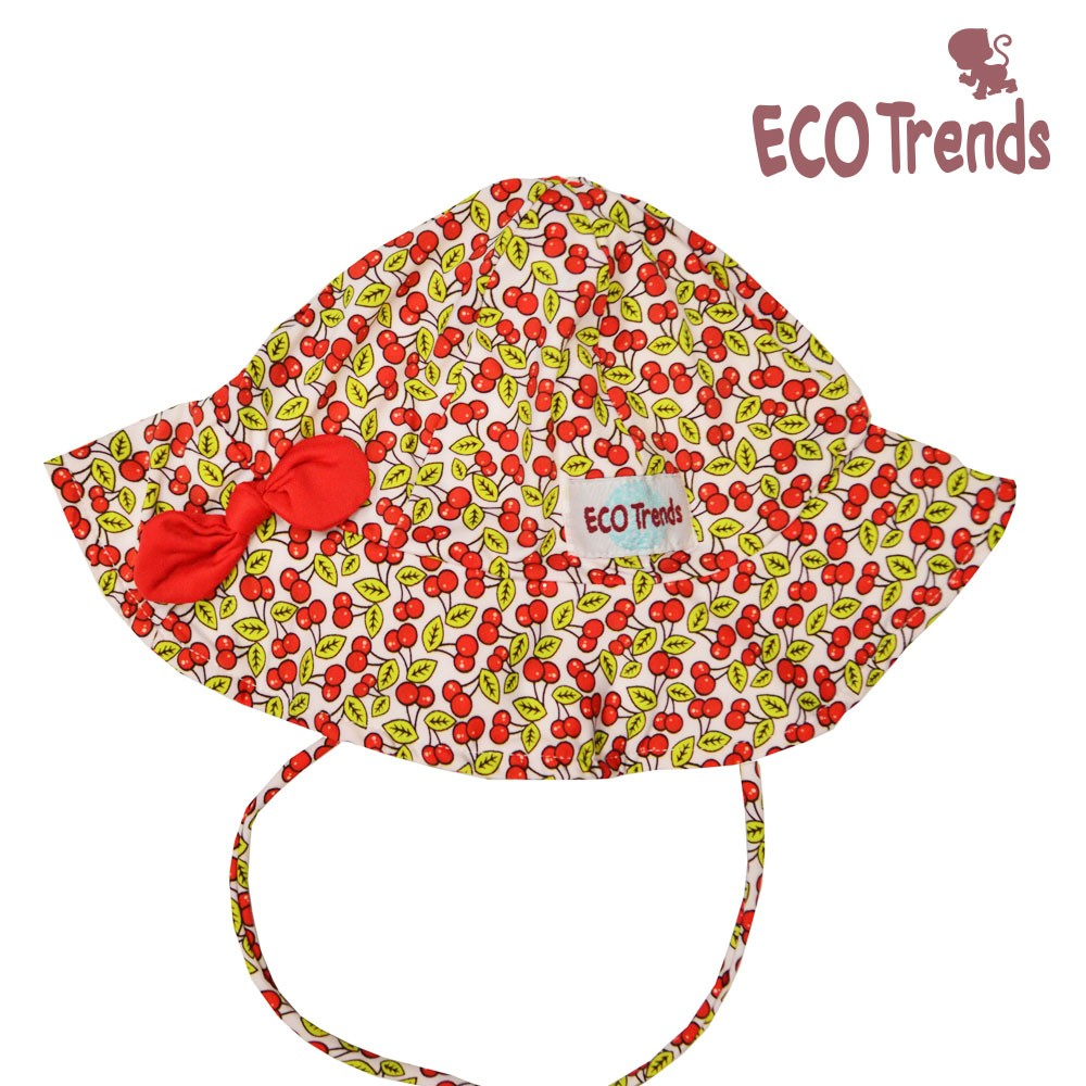 Chapéu com proteção solar Cereja  - Ecotrends