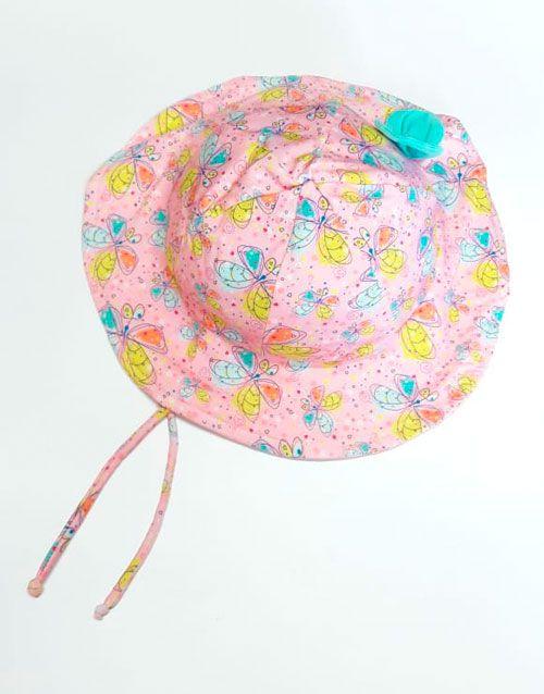 Chapéu com proteção solar Ecotrends - Borboleta
