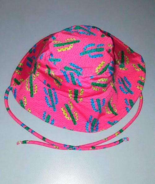 Chapéu com proteção solar Ecotrends - Cactos
