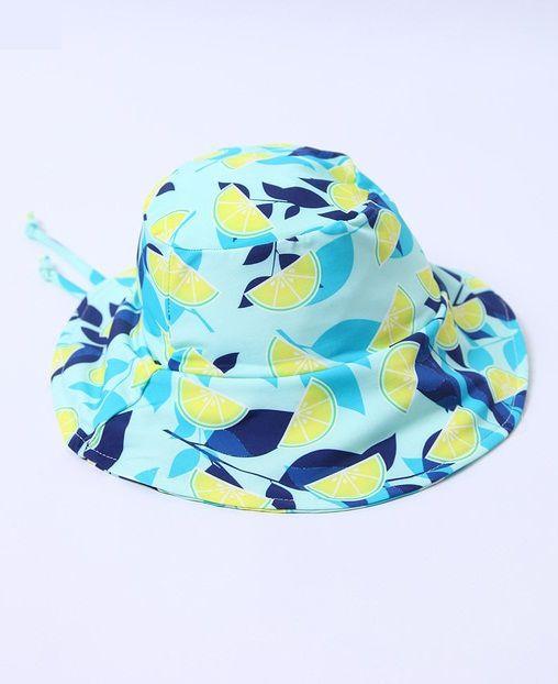 Chapéu com proteção solar Ecotrends - Limão