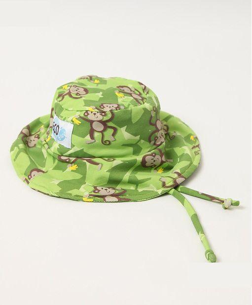 Chapéu com proteção solar Ecotrends - Macaco