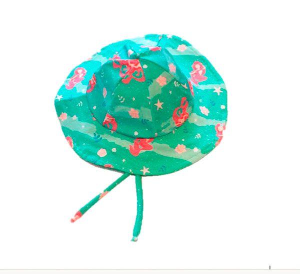 Chapéu com proteção solar Ecotrends - Sereia
