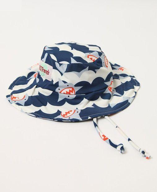 Chapéu com proteção solar Ecotrends - Tubarão