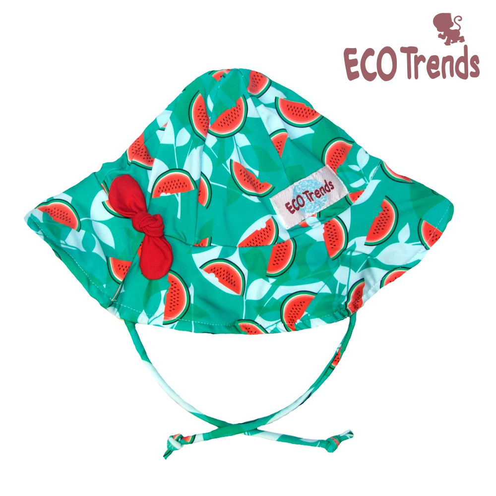 Chapéu com proteção solar Melância  - Ecotrends
