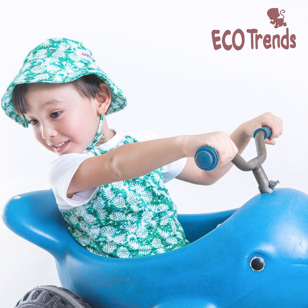 Chapéu com proteção solar Ecotrends - Tartaruga