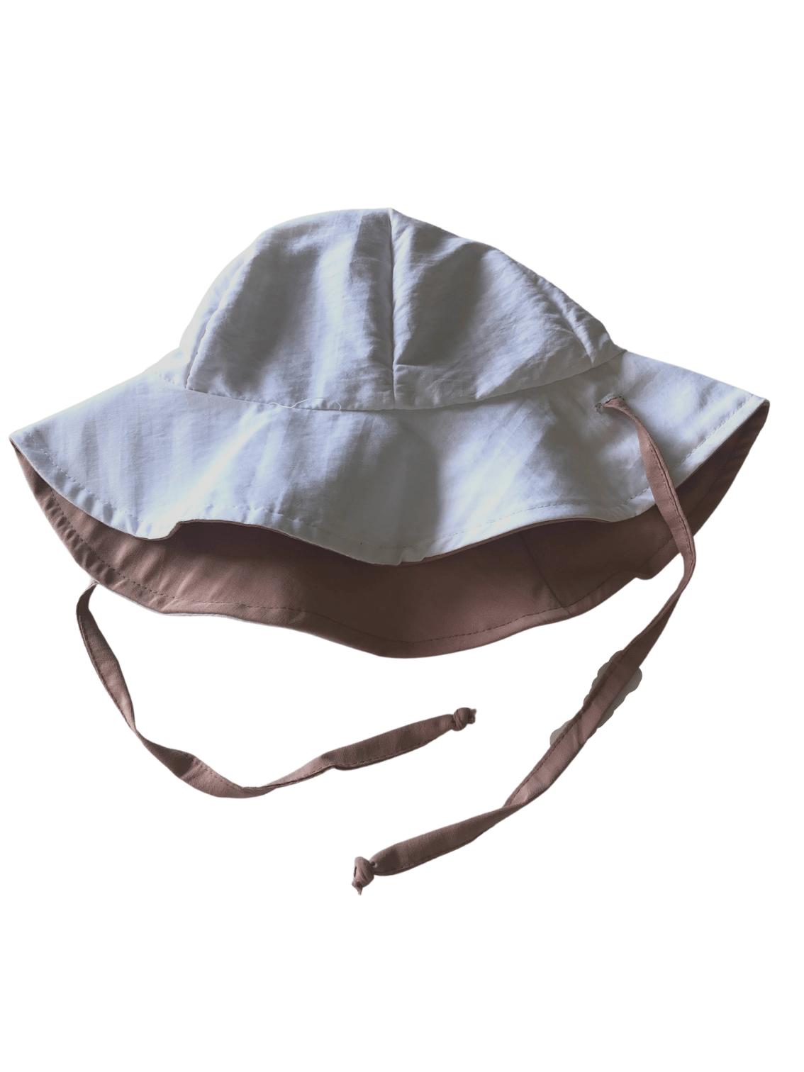 Chapéu Infantil Dupla-face Com Proteção Solar Ecotrends FPS50+