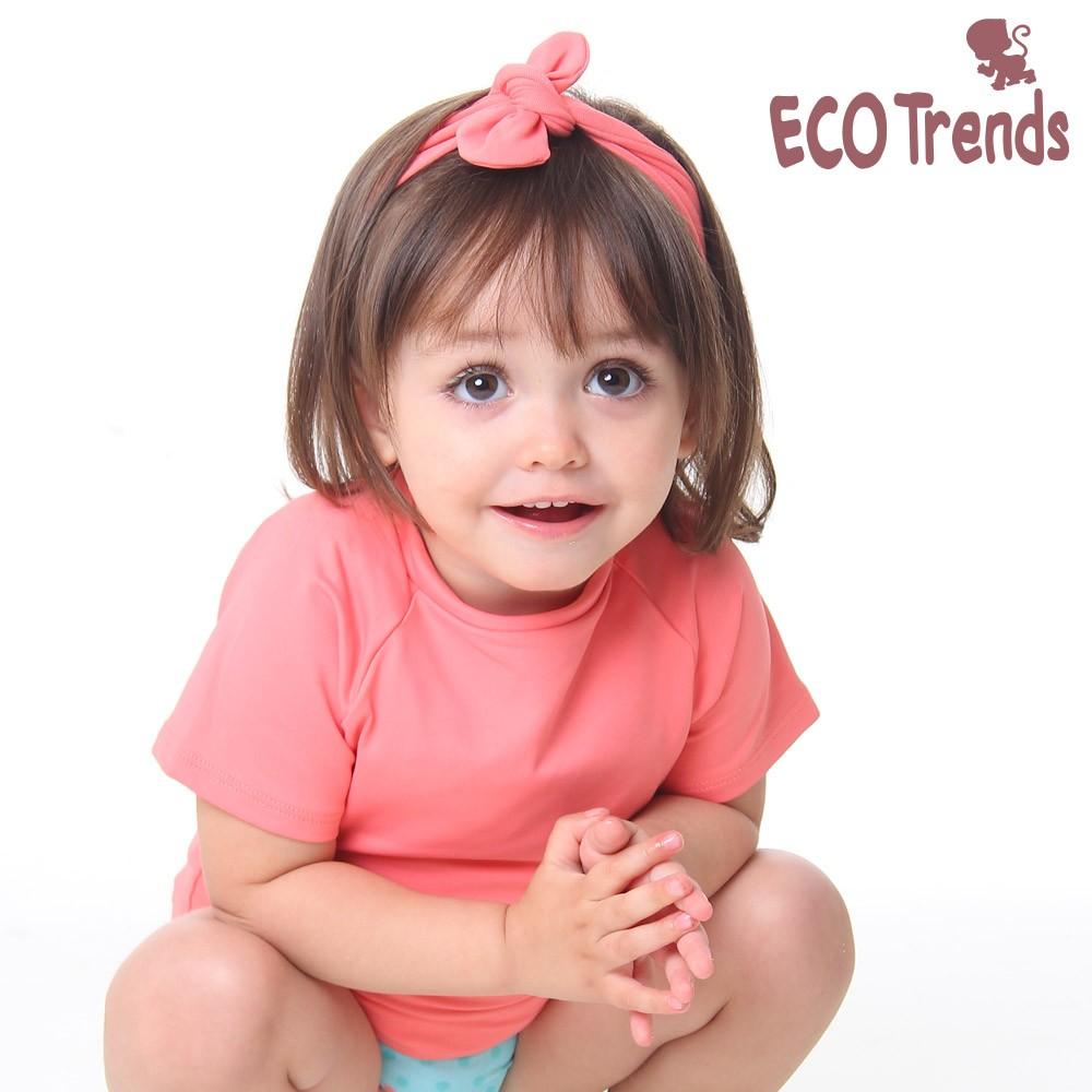 Faixa infantil para cabelo - rosê  - Ecotrends