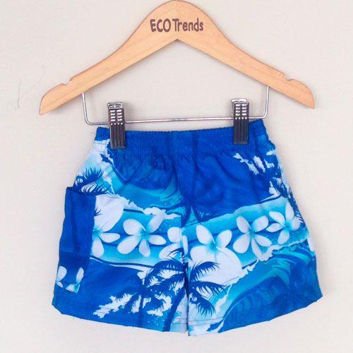 Fralda de piscina bermuda Ecotrends - Floral