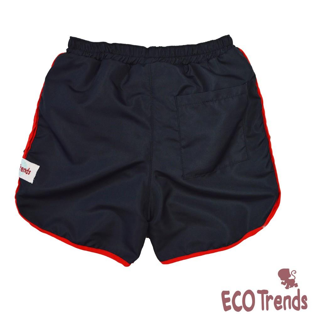 Fralda de piscina bermuda Azul e Vermelha  - Ecotrends