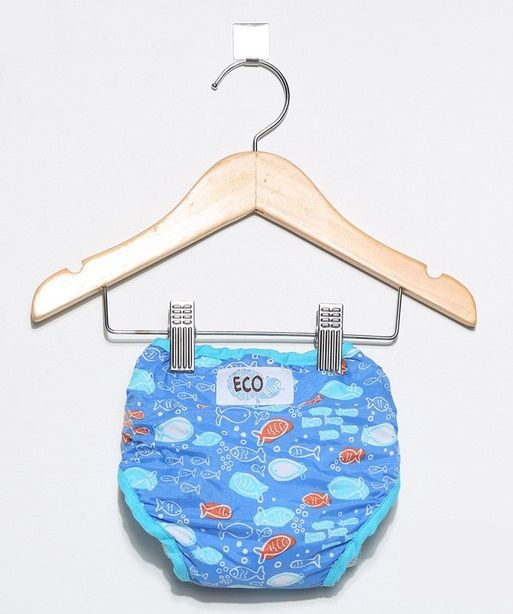 Fralda de Piscina Ecotrends - Peixe Azul