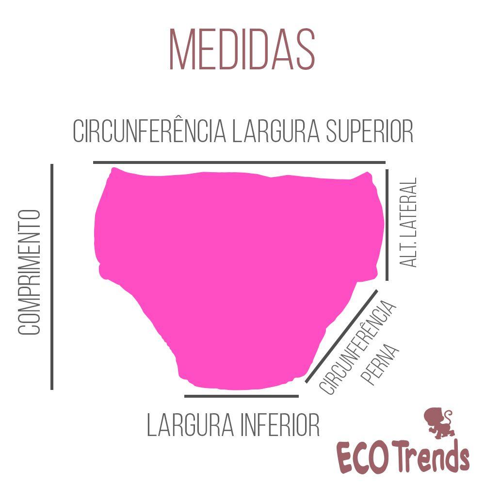 Fralda de piscina Sunga Ecotrends - Cereja
