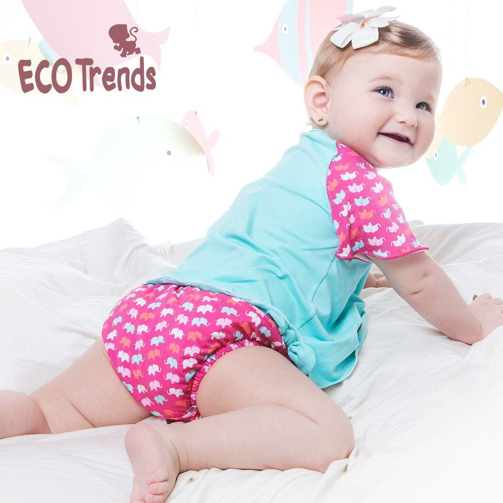 Fralda de piscina Sunga Ecotrends - Elefante