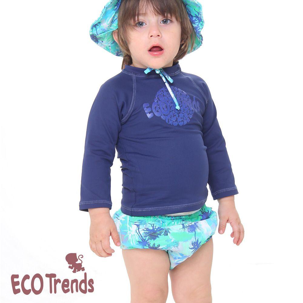 Fralda De Piscina Sunga Infantil Reutilizável Ecotrends