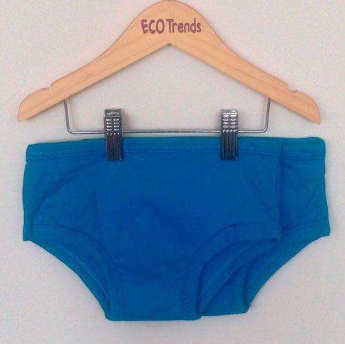 Kit com 2 cuecas de transição/desfralde Ecotrends  - Azul