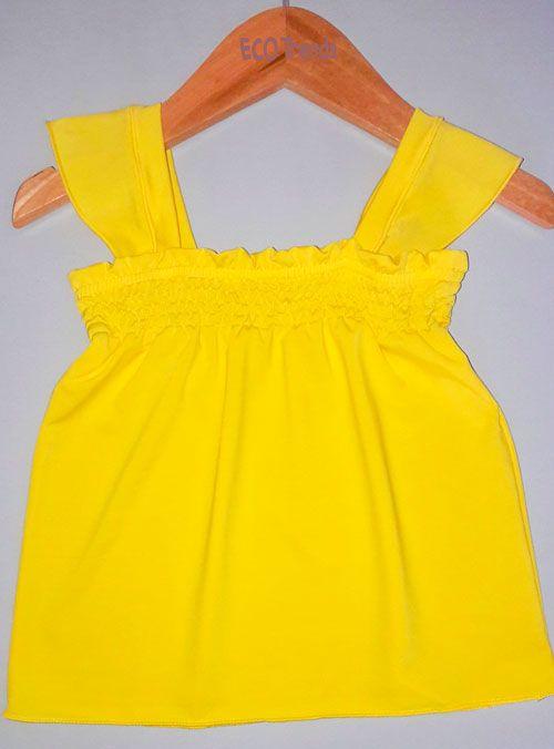 Regata infantil Ecotrends - Amarela