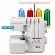 Máquina de Costura Overlock Doméstica Elna 664