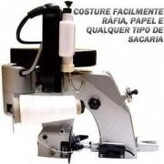 Máquina de Costurar Sacos + 1 Linha + 10 agulhas
